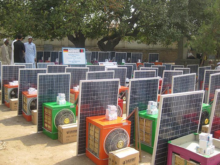 Zularistan Ltd 183 Solar Home Systems For Allahi High School