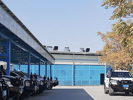 Hybrid System with SMA Fuel Save Controller & 262kW Solar Power System at UNICEF Office in Kabul